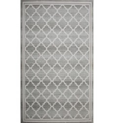 Sunshine - 2x8 Avellino 5892 Grey Rectangle Rug