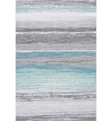 Sunshine - 2x8 Avellino 5931 Grey Blue Rectangle Rug