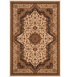 Sunshine - 2x8 Jaipur 1974 Cream Black Rectangle Rug