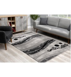 Sunshine - 3x5 Vegas 6148 Grey Rectangle Indoor / Outdoor Rug