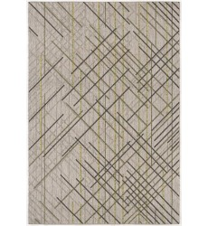 Sunshine - 3x5 Velit 2088 Green Rectangle Indoor / Outdoor Rug