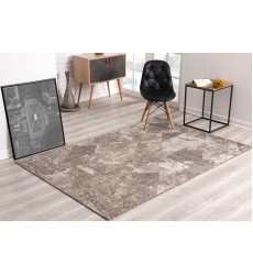 Sunshine - 3x5 Velit 2114 Ivory Rectangle Indoor / Outdoor Rug