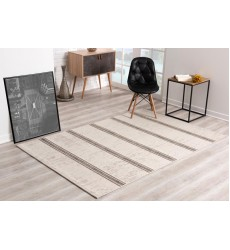 Sunshine - 3x5 Velit 2116 Ivory Rectangle Indoor / Outdoor Rug