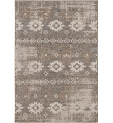 Sunshine - 3x5 Velit 2117 Beige Rectangle Indoor / Outdoor Rug