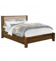 Domingo-78'' Bed-Walnut (101-655K-UP) - Worldwide HomeFurnishings