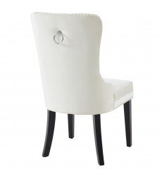 Rizzo-Side Chair-Ivory (202-080IV) Side Chair - Worldwide HomeFurnishings