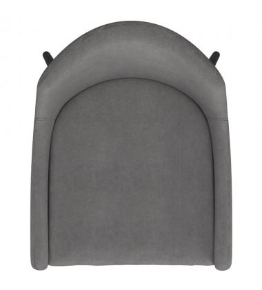 Bianca-Side Chair-Grey/Black Leg (202-086GY/BK) Side Chair - Worldwide HomeFurnishings