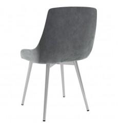 Cassidy-Side Chair-Grey (202-330VLG) Side Chair - Worldwide HomeFurnishings