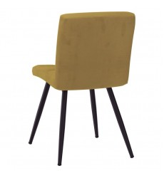 Suzette-Side Chair-Mustard (202-476MUS) Side Chair - Worldwide HomeFurnishings