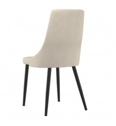Venice-Side Chair-Beige (202-536BEG) Side Chair - Worldwide HomeFurnishings