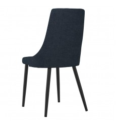 Venice-Side Chair-Blue (202-536BLU) Side Chair - Worldwide HomeFurnishings