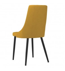 Venice-Side Chair-Mustard (202-536MUS) Side Chair - Worldwide HomeFurnishings