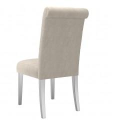 Chloe-Side Chair-Beige (202-552BG) Side Chair - Worldwide HomeFurnishings
