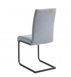 Vespa-Side Chair-Light Grey (202-577LG) Side Chair - Worldwide HomeFurnishings