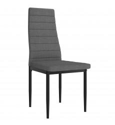 Contra-Side Chairs-Grey (202-843GY) Side Chair - Worldwide HomeFurnishings