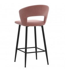 Camille-26'' Counter Stool-Dusty Rose (203-532DRS) 26'' Counter Stool - Worldwide HomeFurnishings
