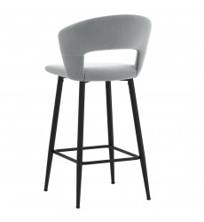 Camille-26'' Counter Stool-Light Grey (203-532LGY) 26'' Counter Stool - Worldwide HomeFurnishings
