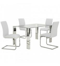 Worldwide - Frankfurt/Maxim Frankfurt/Maxim-5PC Dining Set(3part)