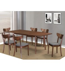 Alero Rec/Lira Grey-7Pc Dining Set (207-695RC/611GY)
