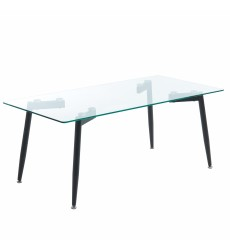 Abbot-Coffee Table-Black (301-453BK) - Worldwide HomeFurnishings