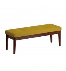 Leanne-Bench-Mustard (401-553MUS) - Worldwide HomeFurnishings