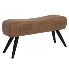 Carson-Bench-Vintage Brown (401-690BN) - Worldwide HomeFurnishings