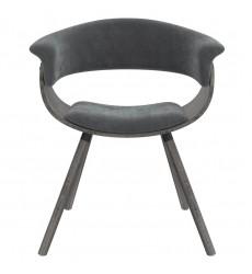 Holt-Accent Chair-Velvet Grey (403-981VLG) - Worldwide HomeFurnishings