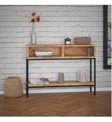 Ojas-Console Table-Natural Burnt (502-513NT) - Worldwide HomeFurnishings