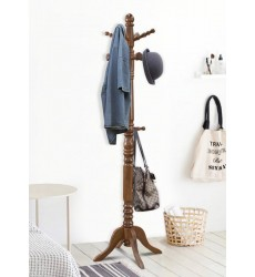 Roxton-Coat Rack-Walnut (552-227WAL) - Worldwide HomeFurnishings