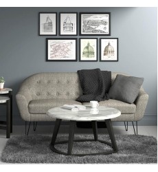 Scott-3 Seater Sofa, 73.75