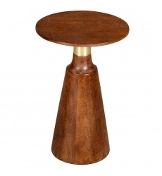 Advik-Accent Table-Walnut (501-517WAL) - Worldwide HomeFurnishings