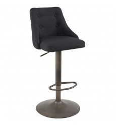 Adyson-Air Lift Stool-Black (203-419BK)