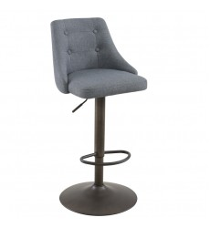 Adyson-Air Lift Stool-Grey (203-419GY)