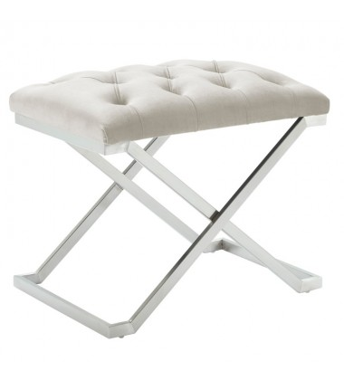 Aldo-Single Bench-Ivory/Silver (401-103IV)