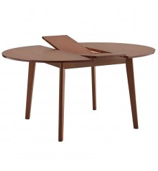 Alero-Round Dining Table-Walnut (201-695RND)
