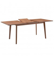 Alero-Rectangular Dining Table-Walnut (201-695REC)