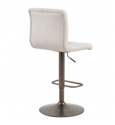 Alexa-Air Lift Stool-Beige (203-973BEG)