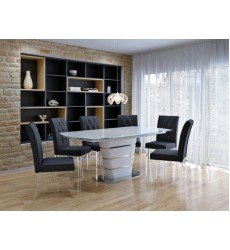 Worldwide - Alto/Cavalli 7Pc Dining Set -  (207-783WT_106BK)