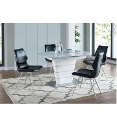 Worldwide - Alto/Vaux 5Pc Dining Set -  (207-783_334BK-5)