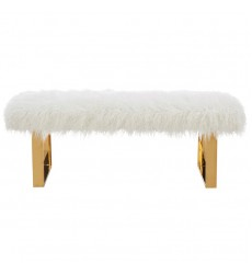 Worldwide - Angelica Double Bench - White (401-266WT)