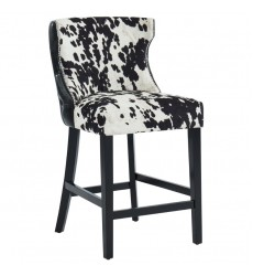 Angus- 26'' Counter Stool-Black (203-795BLK) 26'' Counter Stool, Set Of 2 - Worldwide HomeFurnishings
