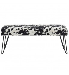 Angus-Bench-Black (401-795BLK) - Worldwide HomeFurnishings