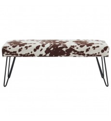 Angus-Bench-Brown (401-795BRN) - Worldwide HomeFurnishings