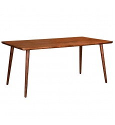 Arnav-Rectangular Dining Table-Walnut (201-445REC)