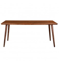 Arnav-Rectangular Dining Table-Walnut (201-445REC) - Worldwide HomeFurnishings