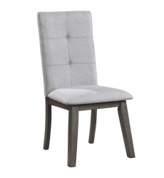 Ashland-Side Chair-Grey (202-311GY) Side Chair, Set Of 2 - Worldwide HomeFurnishings