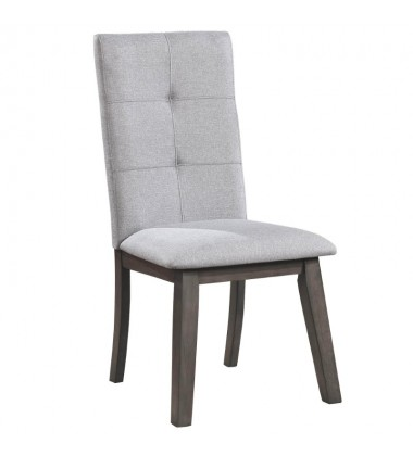 Ashland-Side Chair-Grey (202-311GY) Side Chair - Worldwide HomeFurnishings