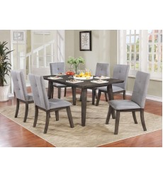Ashland-7Pc Dining Set-Grey (207-311GY)