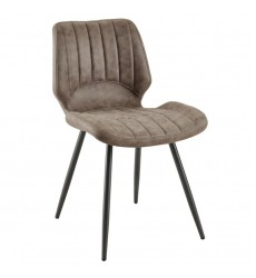 Aspira-Side Chair-Brown (202-342BN)