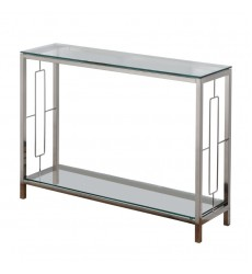 Athena-Console Table-Chrome (502-747CM) - Worldwide HomeFurnishings